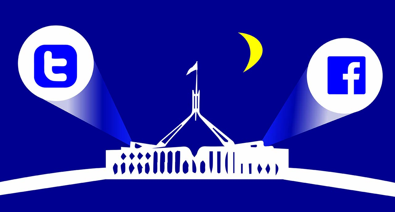 92% of Australia's federal politicians now use Facebook and/or Twitter