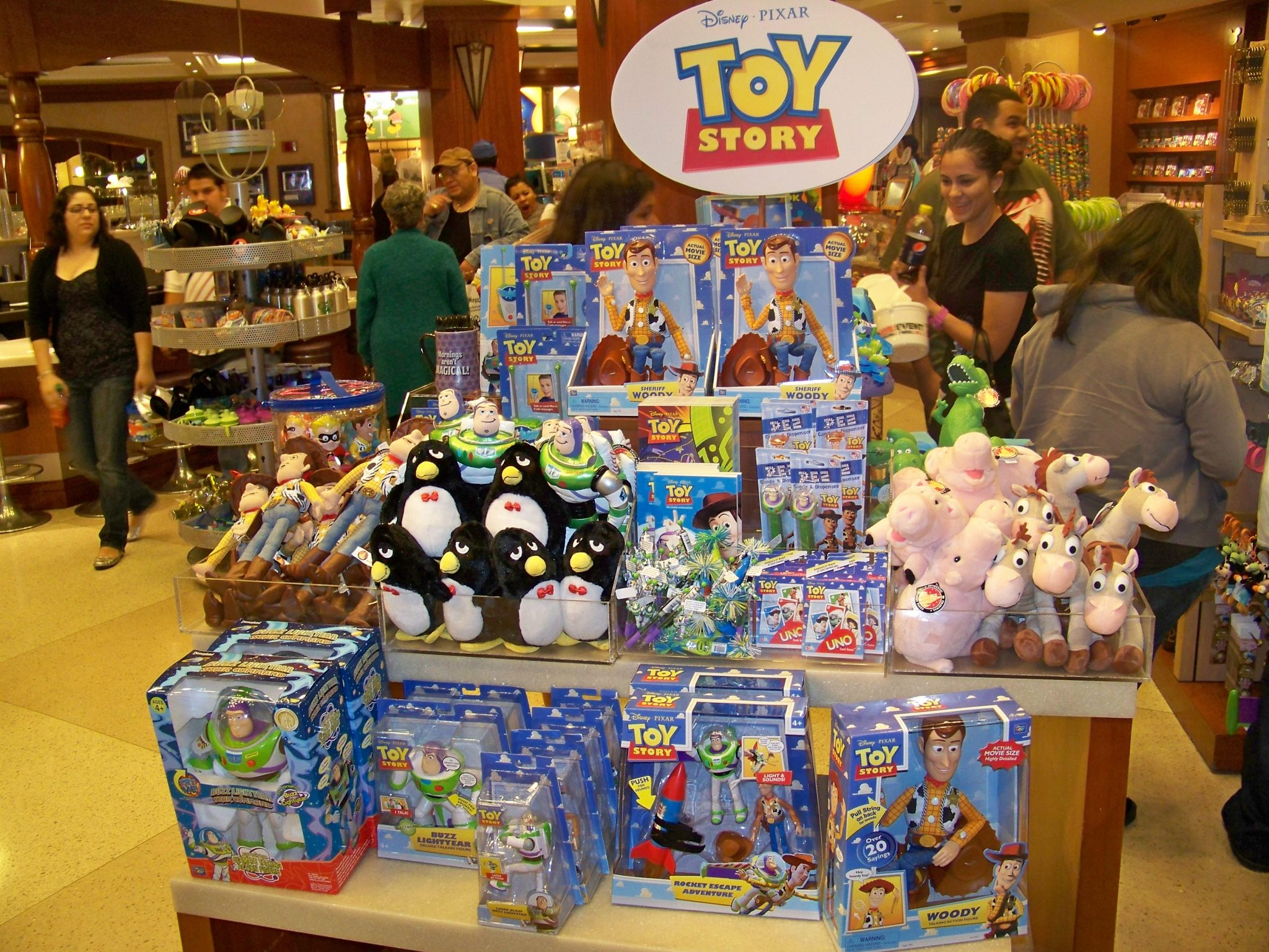 Toy Story Shop