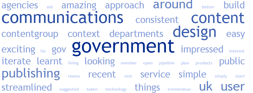 What content will be most effective for government in 2015?