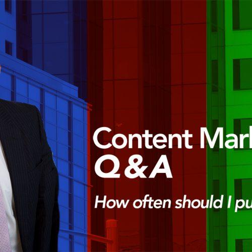 How often should I publish?