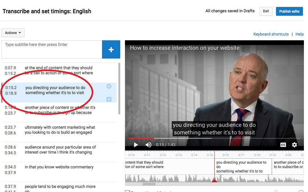 5 steps to fix errors in Youtube Automatic Captions