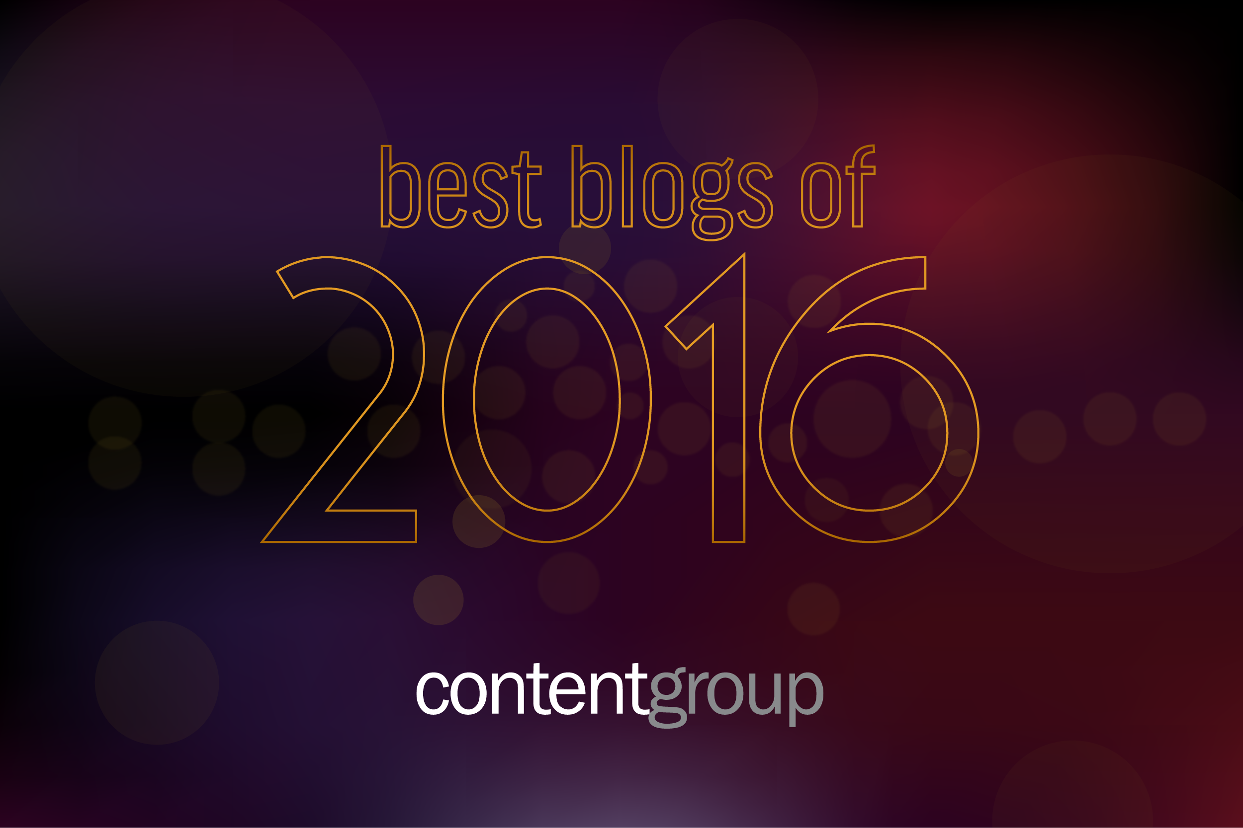 The most popular blogs of 2016