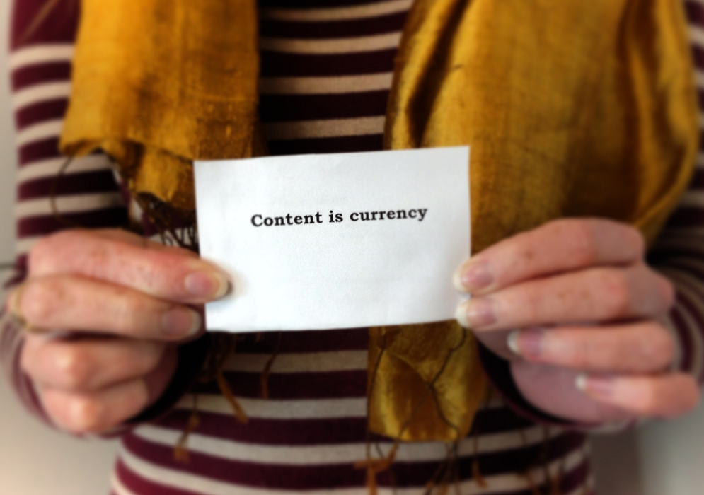 Creating brand awareness through content marketing