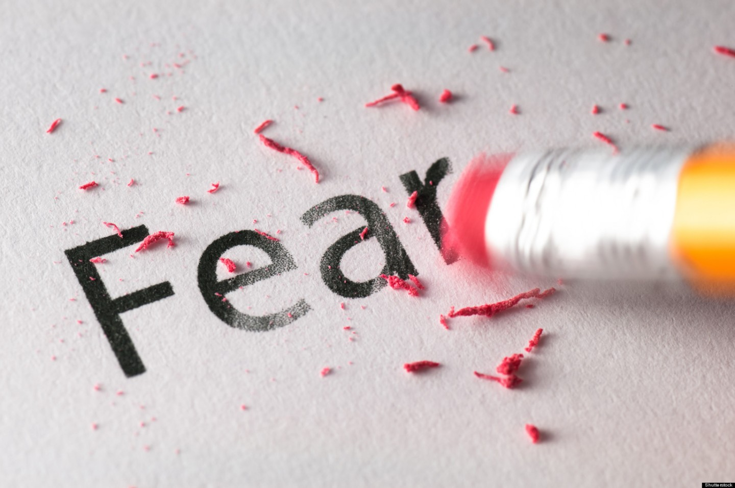 Are you scared of failure?