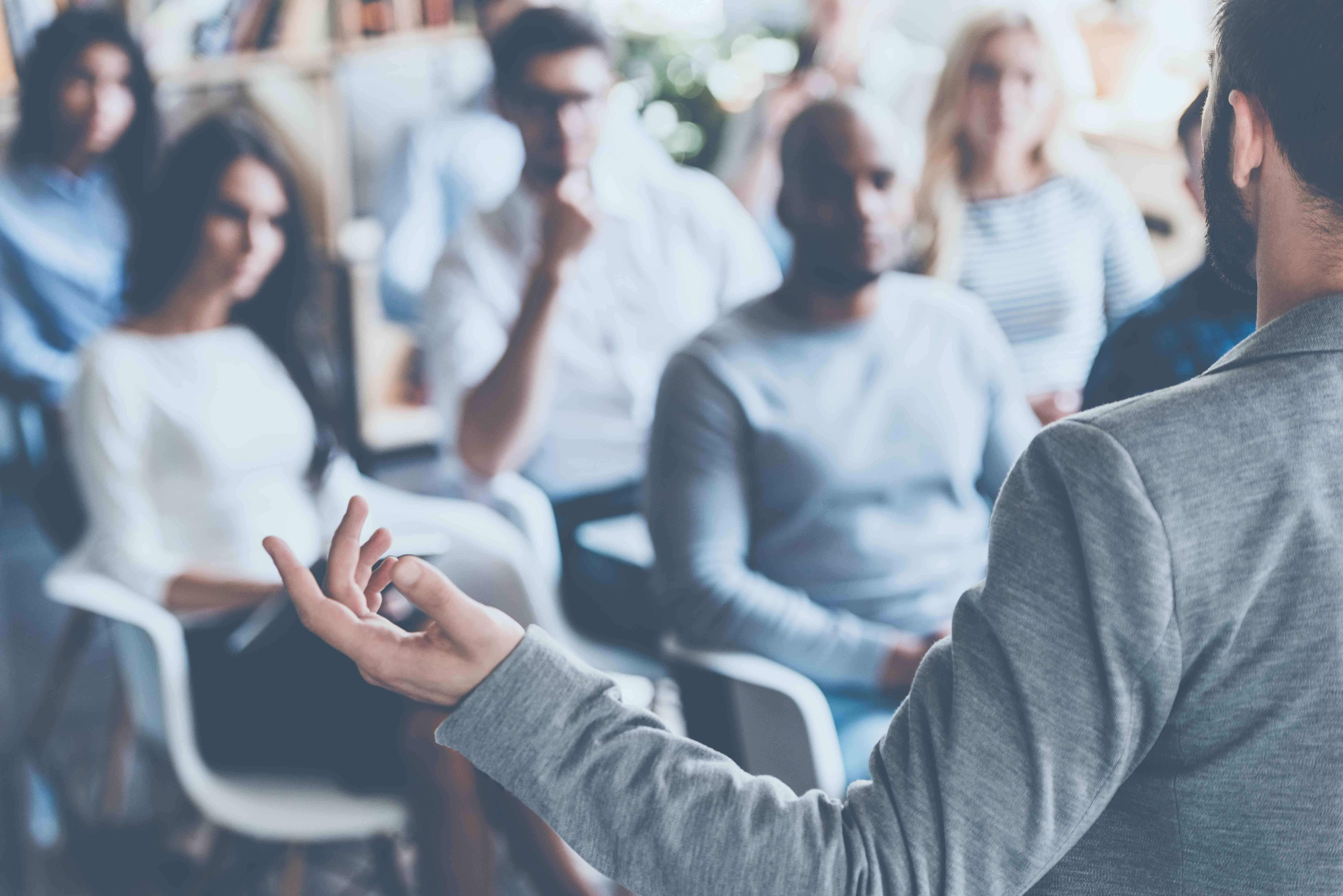 The strange death of public speaking