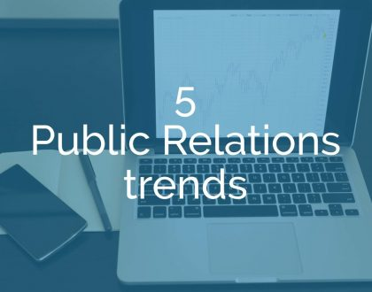 5 trends every public-sector PR professional needs to know and act on