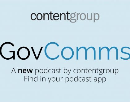 Announcing the new and improved GovComms Podcast