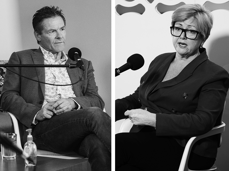 EP#1: COVID 19 response accelerating reform of the Australian Public Service - with Peter Woolcott AO and Katherine Jones PSM.